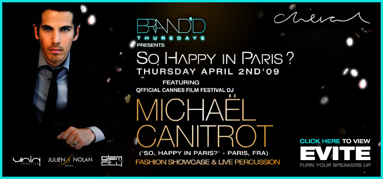 SO, HAPPY IN PARIS? with MICHAEL CANITROT