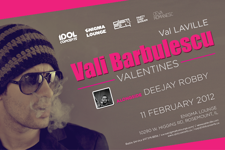 VAL LAVILLE VALENTINES at ENIGMA LOUNGE (Chicago) | FEB 11