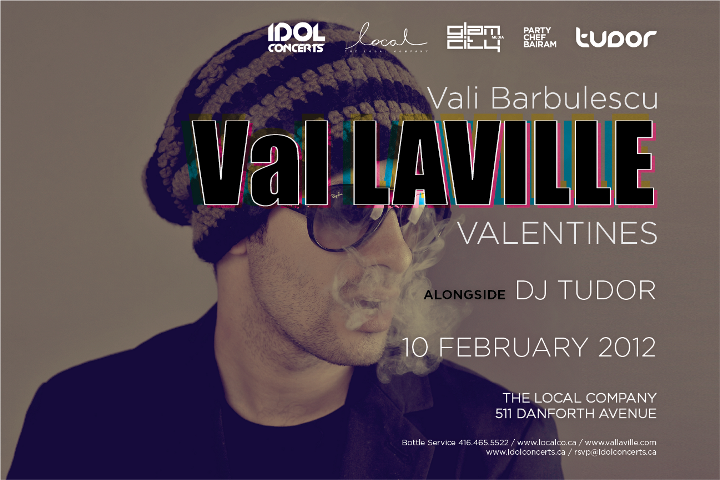 VAL LAVILLE VALENTINES at THE LOCAL COMPANY (Toronto) | FEB 10