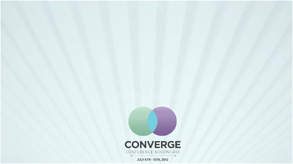 Converge Conference and Showcase (Calgary Stampede)